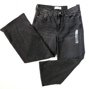 NEW GAP Wide Leg High Rise Denim Jeans